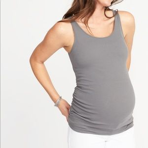 Old Navy Maternity Fitted Rib-Knit Tank Size S